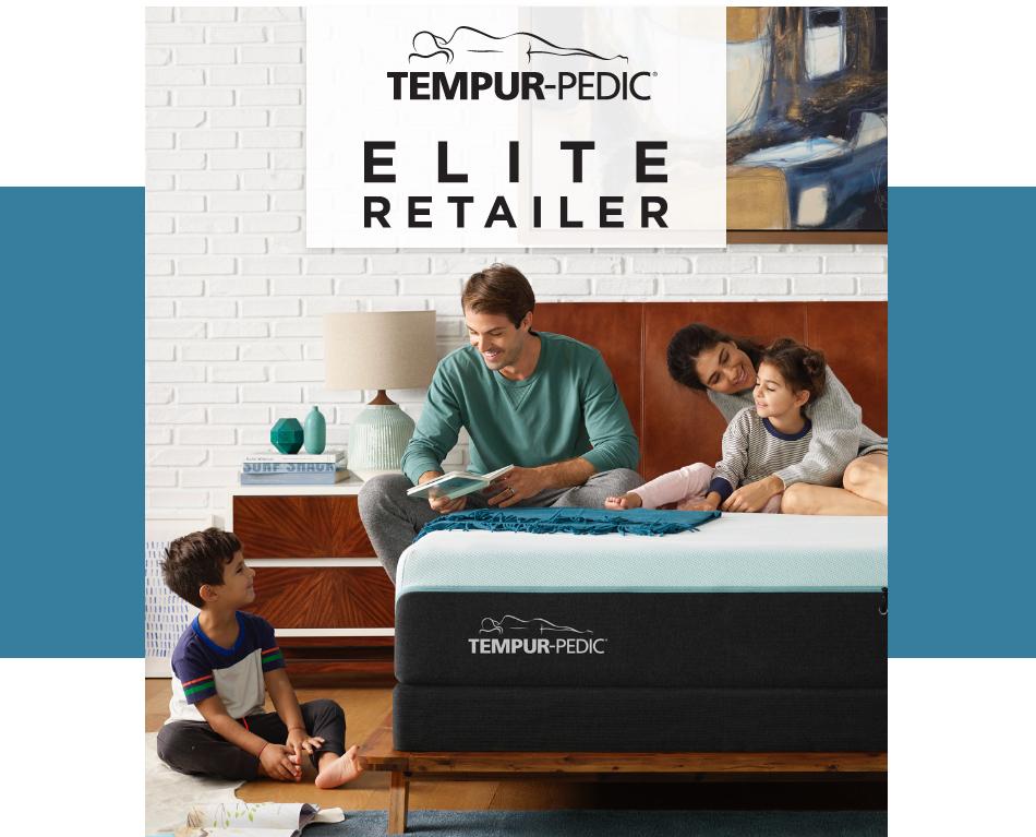 Star Furniture is an Elite Retailer for TempurPedic.